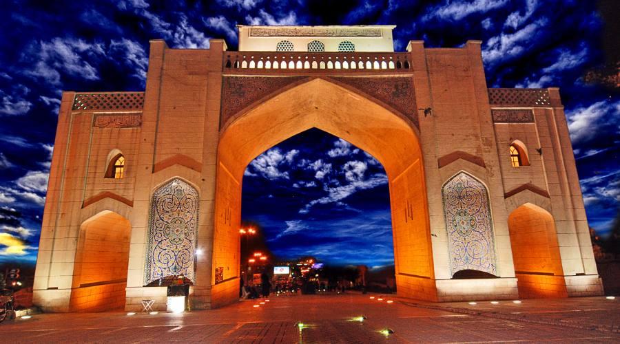 Shiraz: la porta della città