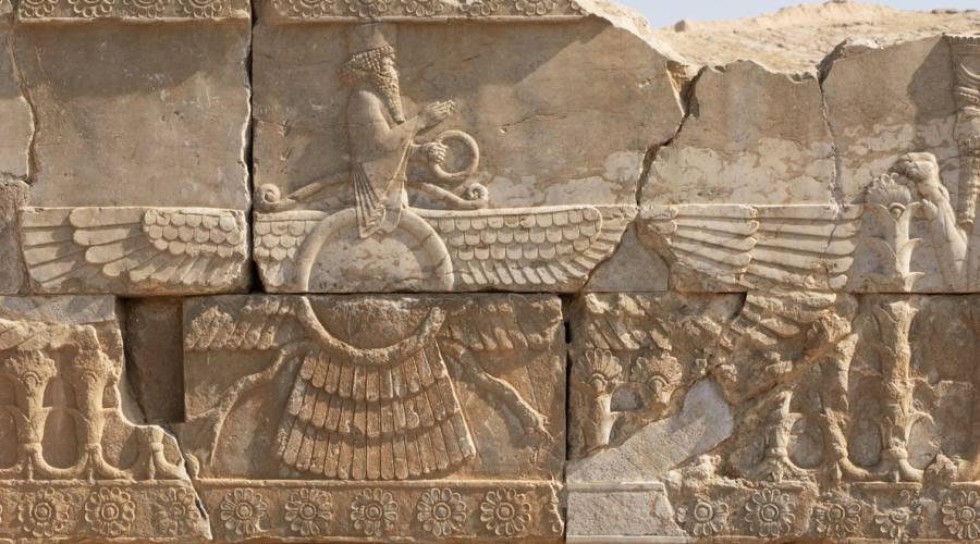 Persepoli: i bassorilievi