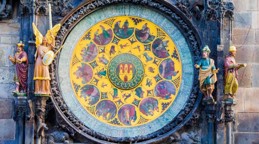 Praga, l' orologio astronomico