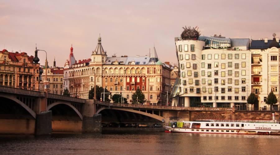 Praga, estrose architetture