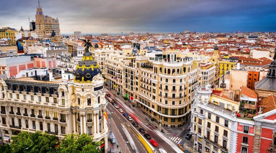 vista di Madrid