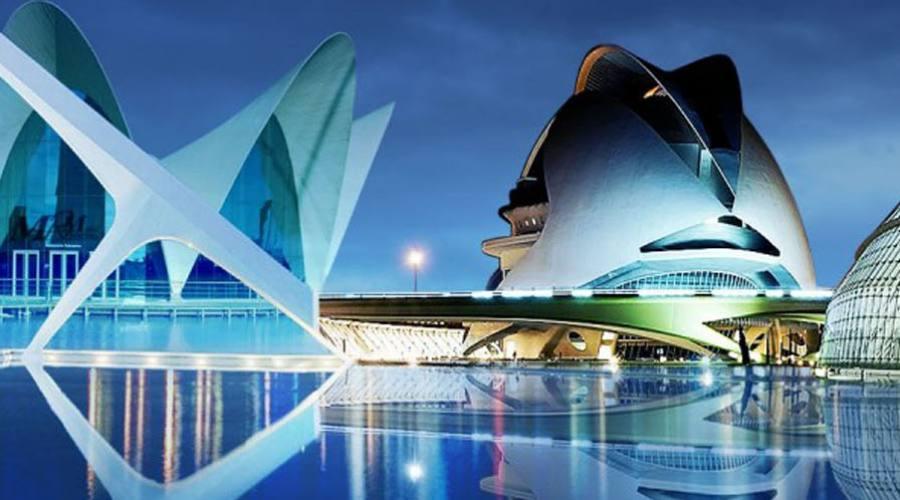 Valencia, le opere di Calatrava