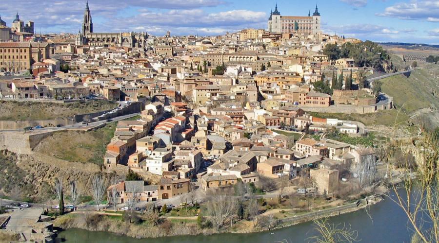 veduta di Toledo