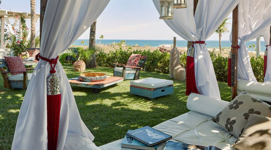 Chili Beach Hotel Fronte mare Jericoacoara Giardino