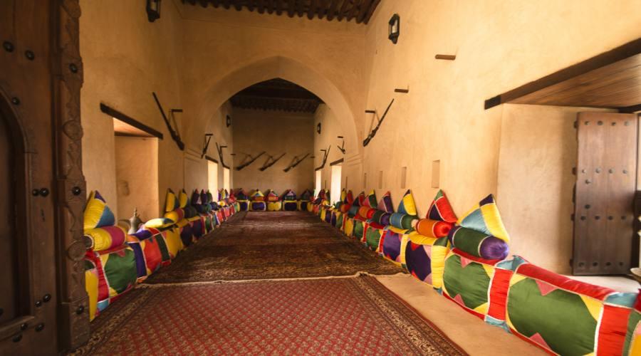 Interno del Forte dii Jabreen