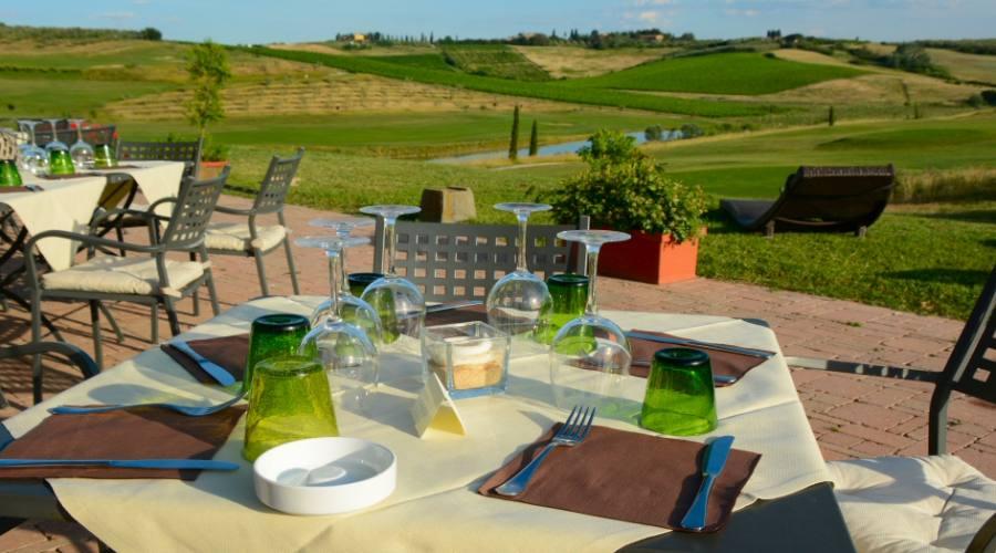Pranzo sul campo da Golf