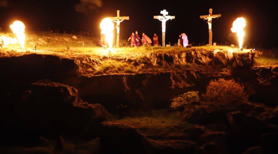 Le 3 croci sulla Murgia