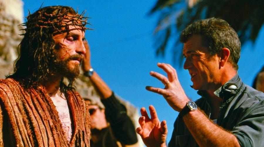Mel Gibson con Gesù