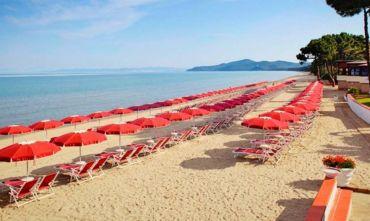 Golf Hotel 4 stelle sul bellissimo mare della Costa Etrusca