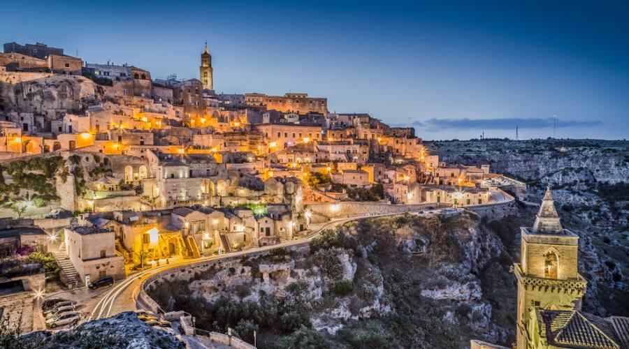 Panorama mozzafiato di Matera