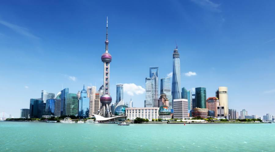 Shanghai Skyline Pudong