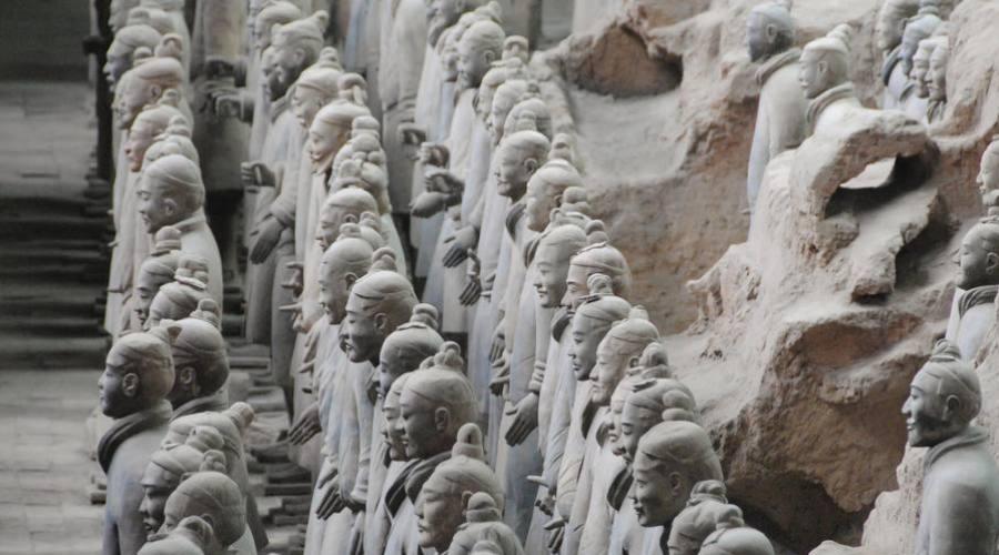 Xi'An Esercito terracotta