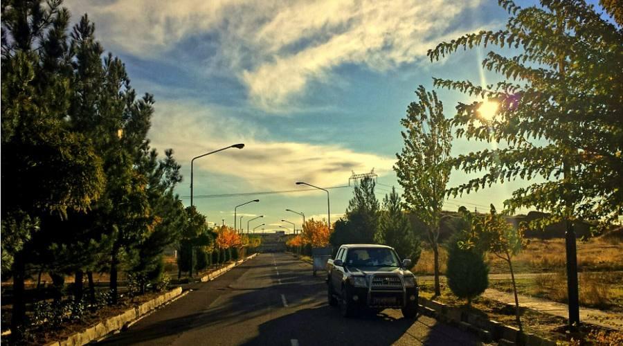 strade di Qazvin