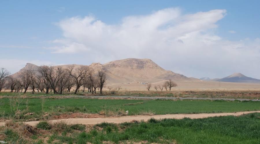 il deserto di Isfahan