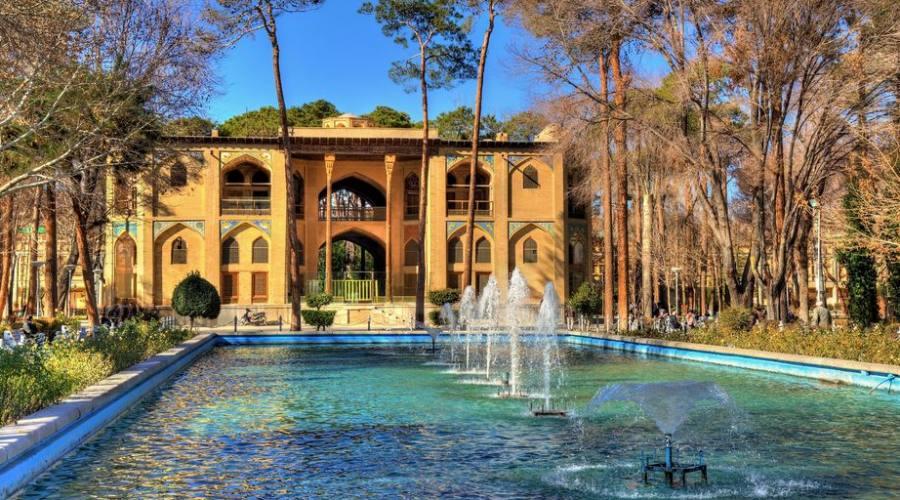 Palazzo Hasht Behesht a Isfahan - Iran