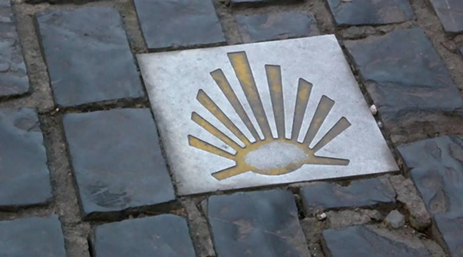 Il logo de Il Cammino di Santiago de Compostela