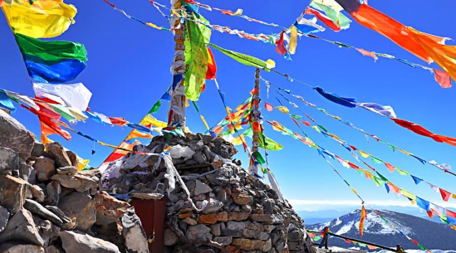 Tibet Bandiere votive