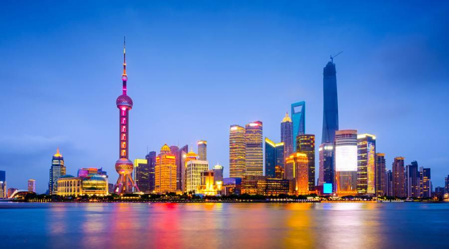 Shanghai Pudong Centro Finanziarioi