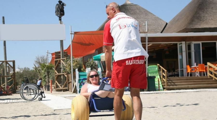 Sedia joba in spiaggia