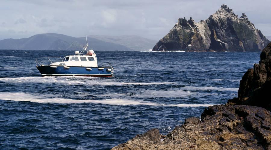 Traghetto per le isole Skellig
