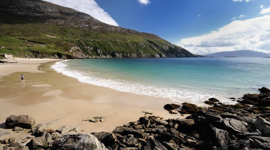 Spiaggia dell'isola Achill Island