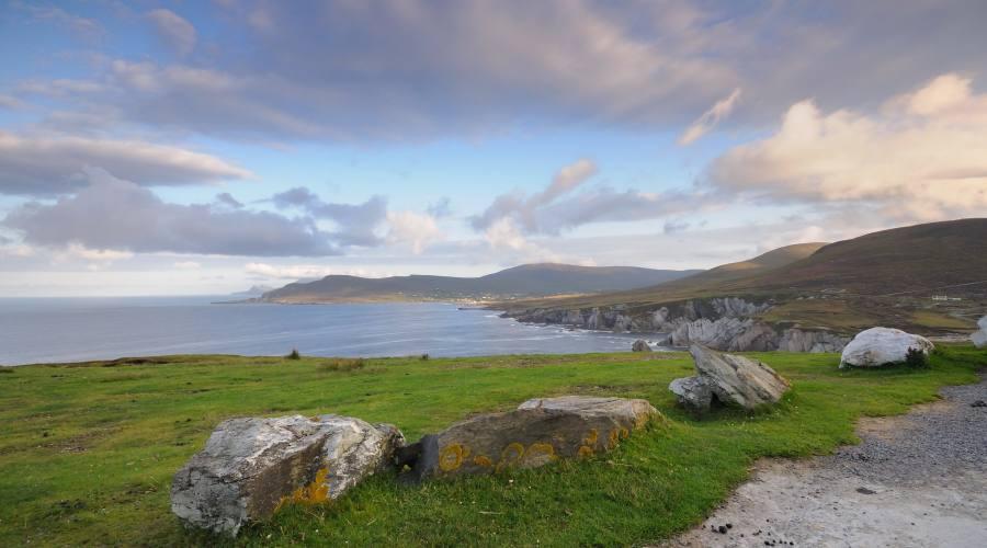 La mattina sull'isola Achil Island
