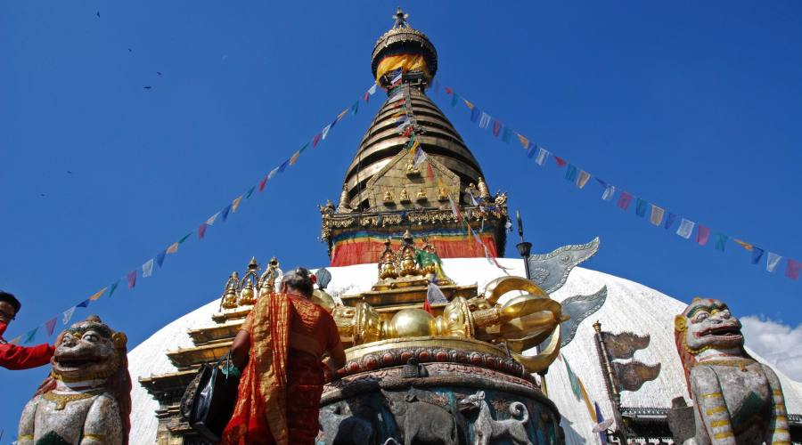Stupa a Kathmandu