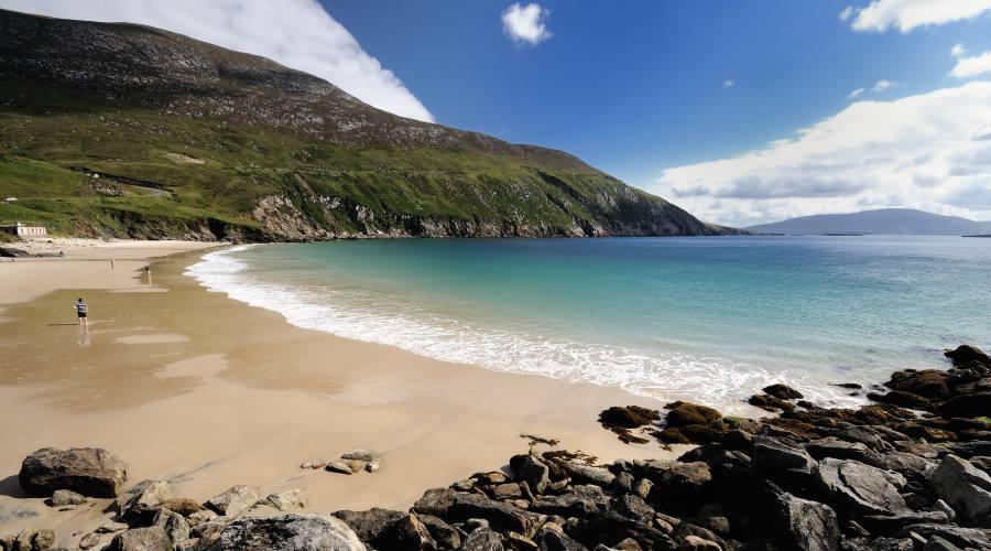 Spiaggia sull'isola Achill Island