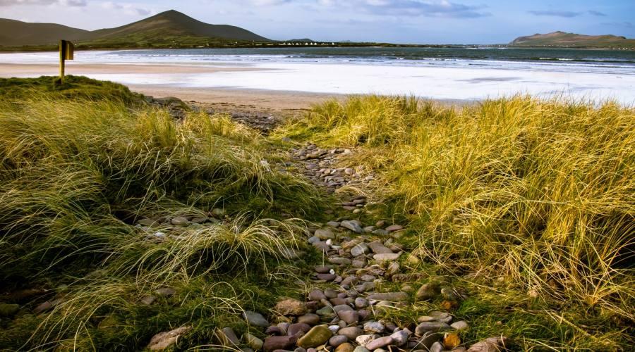 Spiagge deserte nella penisola di Dingle