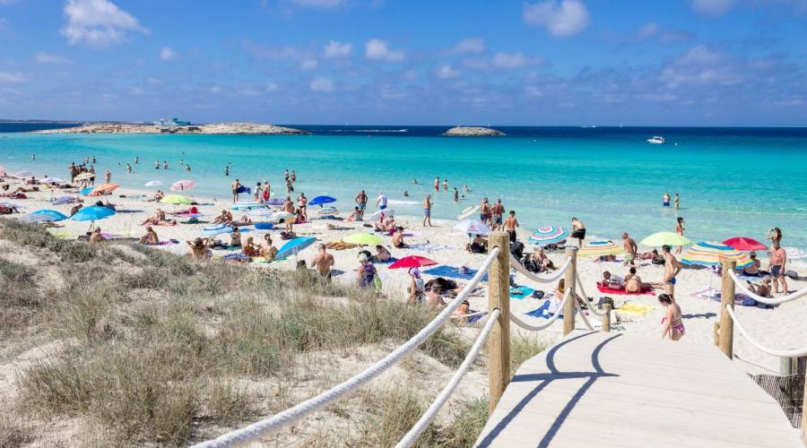 spiaggia di playa d'en bossa