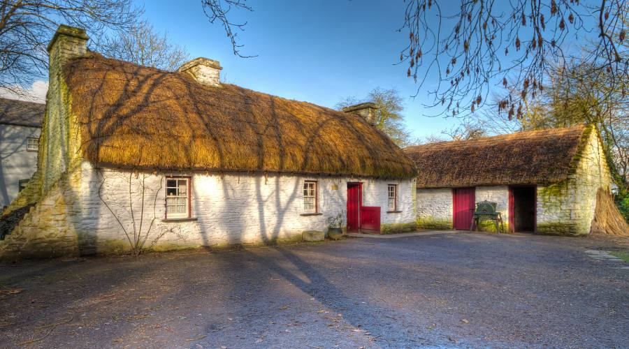 Folk park al Bunratty castle