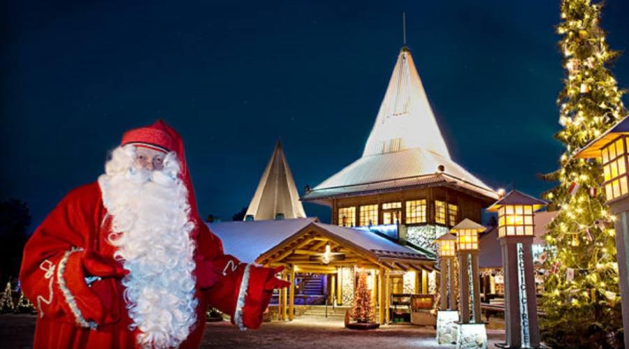 Rovaniemi la casa di Babbo Natale
