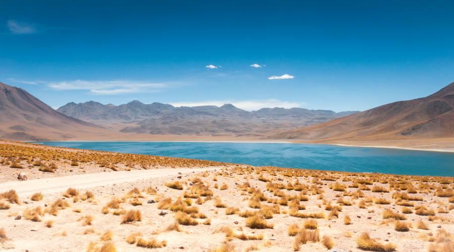 Laguna a San Pedro de Atacama