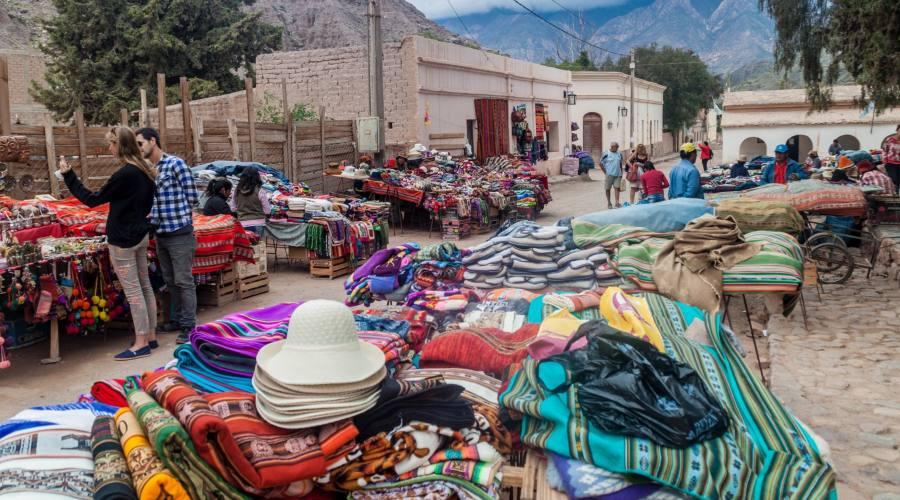 Purmamarca - Mercato Tradizionale