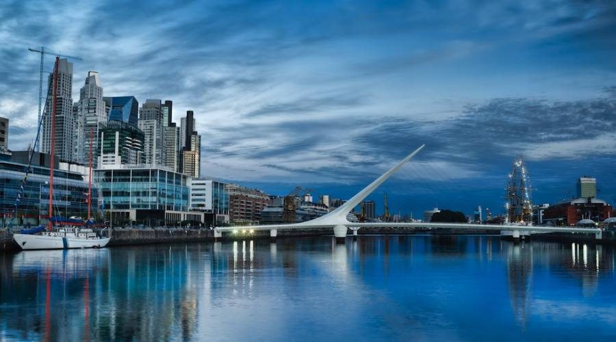 Buenos Aires - Puerto Madero e Ponte delle Donne