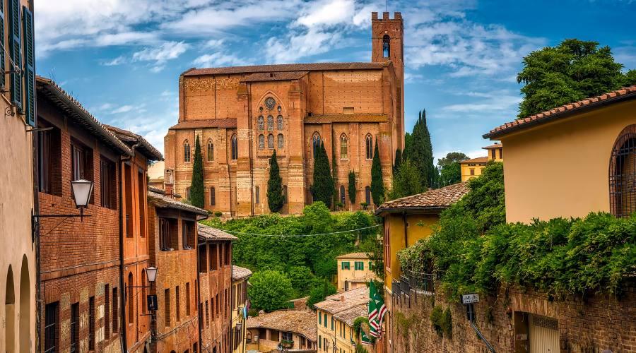Siena, centro storico