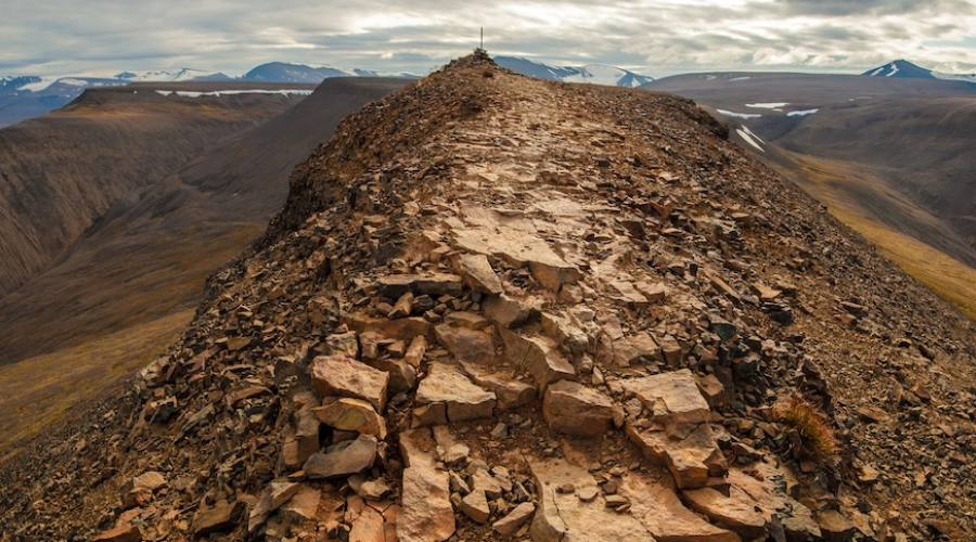 Trekking intorno a Longyearbyen