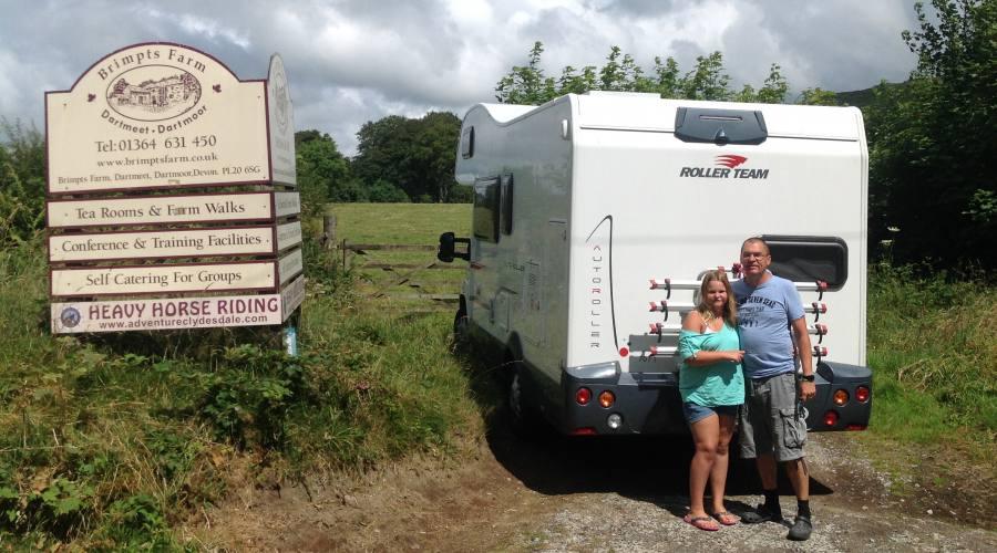 Camper Grande per viaggio in Irlanda
