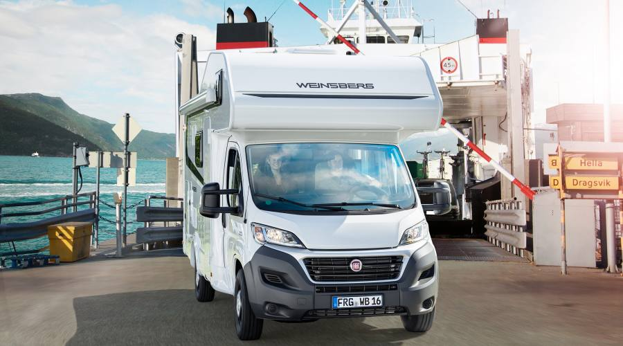 Camper Vista Plus per viaggio in Irlanda