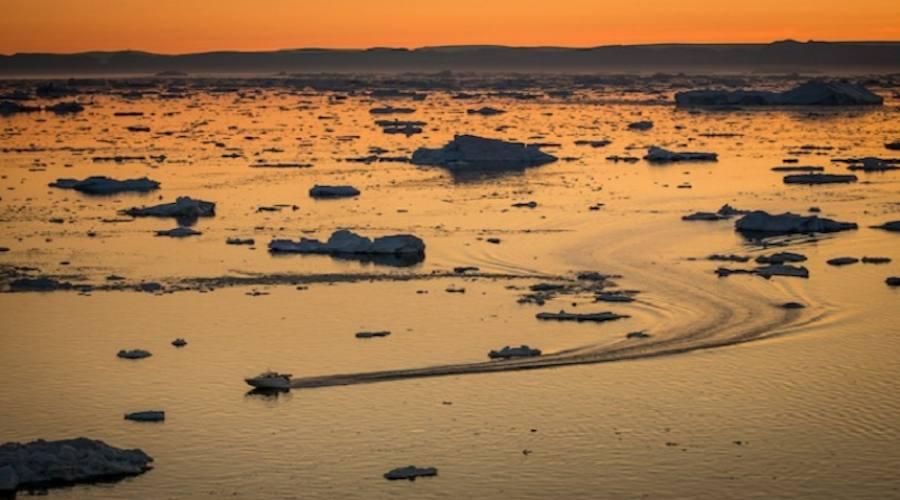 Navigazione tra i ghiacci della Disko Bay