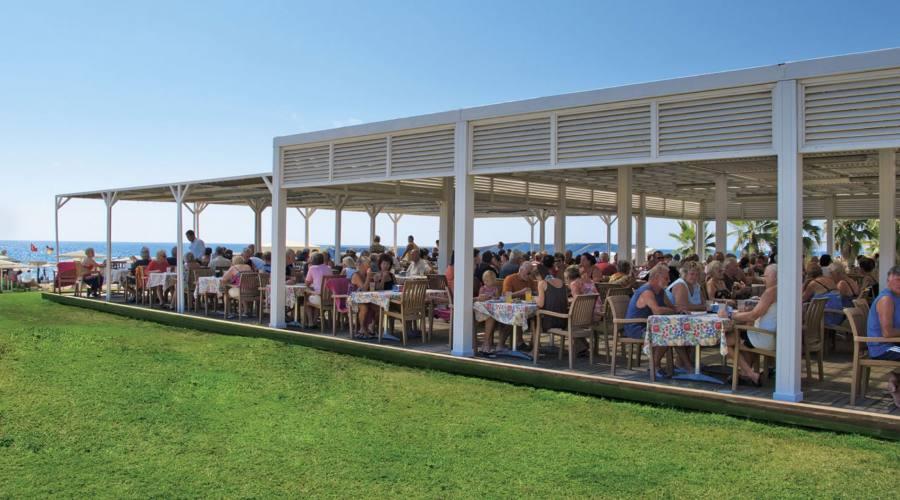 ristorante all'aperto