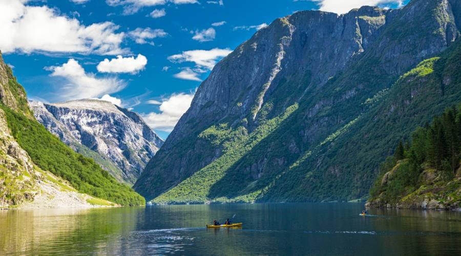 Naeroyfjord - Famoso sito UNESCO in Norvegia, Norway in a Nutshell