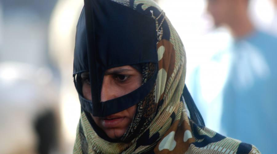 Donna con la mascheda - Sinaw