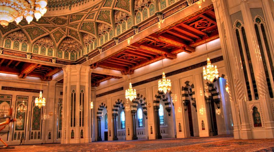 La Grande Moschesa di Muscat
