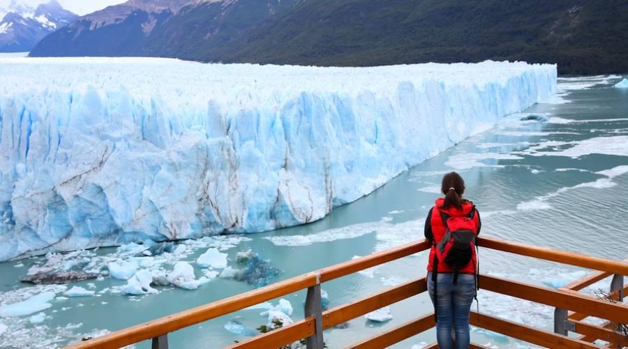 Passerelle panoramiche sul Perito Moreno