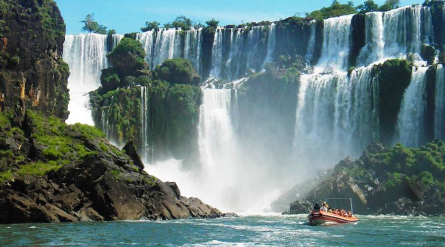 Navigazione Cascate Iguazú