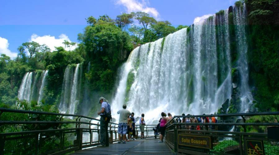 Passerelle a Iguazú