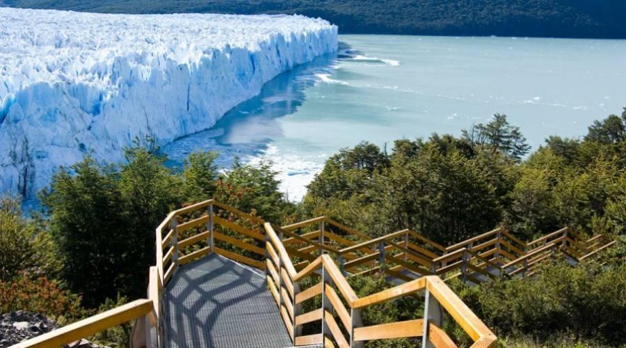 Passerelle al Perito Moreno