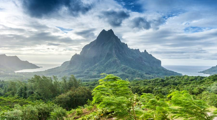 Il panorama che offre Tahiti