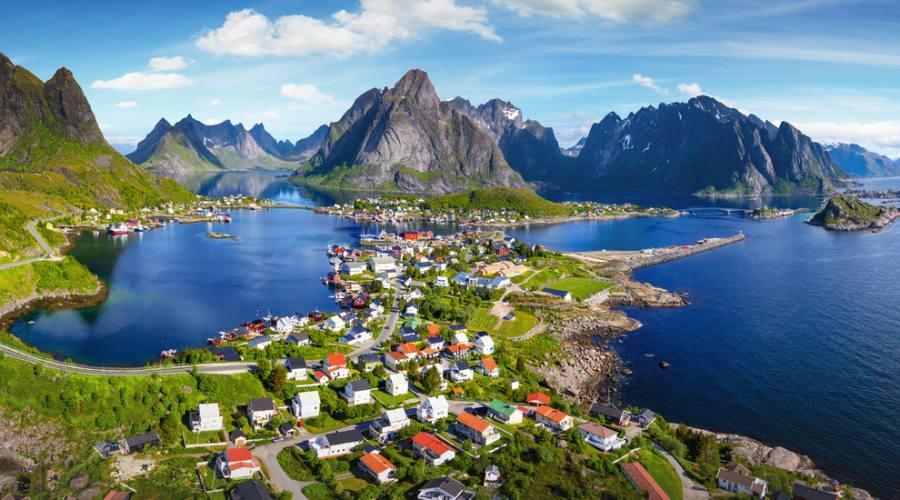 Reine, Lofoten, Viaggio fly&drive in Norvegia